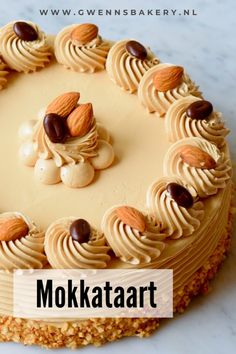 Dutch Recipes, Sweet Recipes, Baking Recipes, Cake Recipes, Dessert Recipes, Pie Cake, No Bake Cake, Food Cakes, Cupcake Cakes