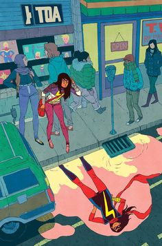 She's an amazing representation of a Pakistani-American teenager. | 12 Reasons Why Kamala Khan Is The Best Comic Book Hero