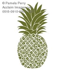 If you saw a pineapple like this in a company logo what would it make you think?