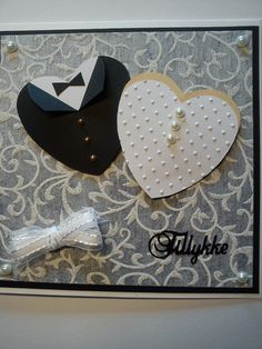 bryllup kort wedding Card