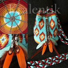 Wayuu Mochila bag Indian Summer