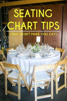 These spot on seating chart tips will make planning your wedding or event SO much easier. Check out the pictures and measurements, too!