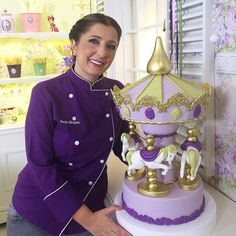 Carousel Cake, Samurai, Cakes, Cake Makers, Kuchen, Cake, Pastries, Cookies, Torte