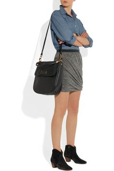Marc by Marc Jacobs|Too Hot to Handle Laetitia leather shoulder bag|NET-A-PORTER.COM