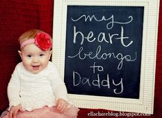 Silas is sure he can do a manly version of this for his dad on Valentine's Day.