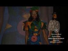Vlisco on the runway   African Fashion Day Berlin - Mercedes-Benz Fashion Week   Designer: Nadir Tati   #vlisco #africanprint #MBFWB