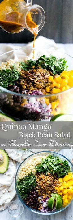 A mouth party in this nourishing salad... those smoky pepitas, tho! | Vegan + GF