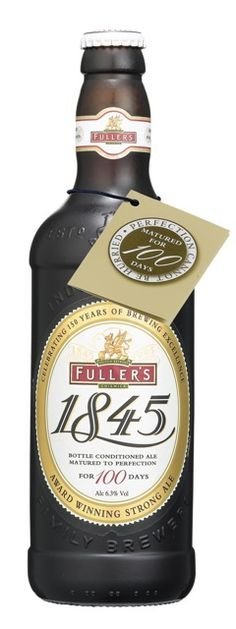 Jeff Evans flicks the cap off a Fuller's 1845, a beer that is both a celebration and an inspiration.