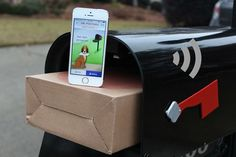 """Mr. Postman is 1/2"""" wider than the standard mailbox, and packed with solar-powered, WiFi-enabled, so you can unlock with your smartphone. Th..."""