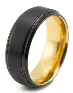 Men's Wedding Band The Nimbus Gold – Manbands & Co