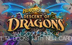 Jan 2020 week 4 meta decks - Sam1Special Hearthstone Game, Little Games, New Deck, House Of Cards, Card Games, How To Find Out, Neon Signs, Decks, Youtube