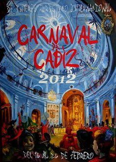 Cartel Carnaval de Cadiz 2012