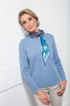 a7e33ec5fd75 Le pull ras du cou norvège. Pure laine vierge mérinos. Fabrication française .
