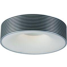 Alumina 1-Light Flush Mount