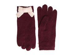Kate Spade New York Bow Glove Chianti/Blush - 6pm.com