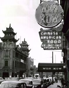 Chinatown, 1950 (Chicago Pin of the Day, 5/30/2015).