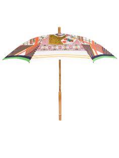 Shop PIERRE-LOUIS MASCIA printed umbrella from Farfetch