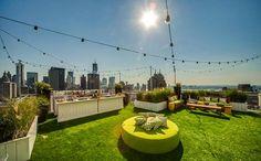 Soaked at Mondrian SoHo New York's New Rooftop Lounge