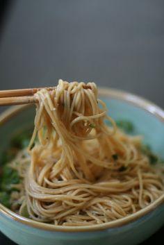 Week of Menus: Garlic Scallion Noodles: Yummy making big tummy...