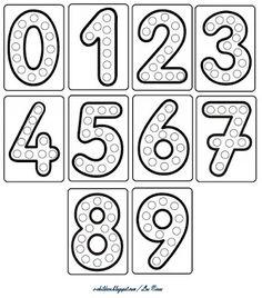 Preschool Writing, Numbers Preschool, Preschool Learning Activities, Learning Numbers, Preschool Printables, Kids Learning, Free Kindergarten Worksheets, Alphabet Worksheets, Printable Worksheets