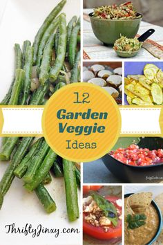 12 Recipe Ideas for Excess Garden Veggies - Thrifty Jinxy