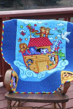 Noah's Ark Quilt!