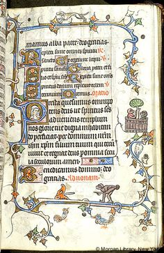 Book of Hours, MS M.754 fol. 15r - Images from Medieval and Renaissance Manuscripts - The Morgan Library & Museum