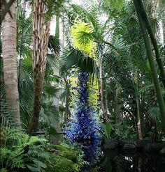 Dale Chihuly at NY Botanical Garden
