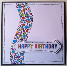Barnsley Crafter: Happy Birthday card using the Collection from Leon...