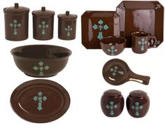 Western Cross Dinnerware U0026 Kitchen Set