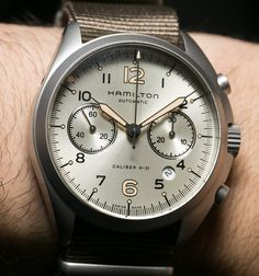 Hamilton Khaki Pilot Pioneer Auto Chrono Watch Hands-On