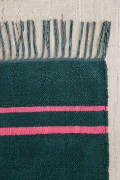 Slide View: 5: Luna Chenille Stripe Rug