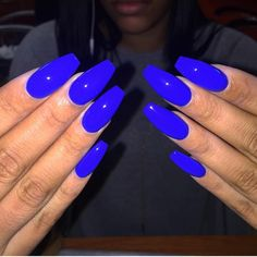 Pin by Chava Moore Hollingsworth on Spring nails in 2020 Neon Purple Nails, Purple Acrylic Nails, Fabulous Nails, Gorgeous Nails, Cute Nails, Pretty Nails, Acylic Nails, Nails Only, Opi Nail Colors