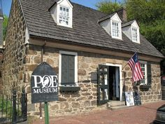 Edgar Allen Poe museum... Dedicated to one of our finest.