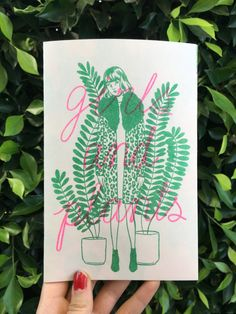 'Girls and Plants' Risograph Zine – Department Store