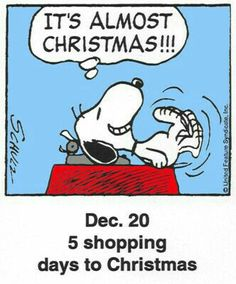 This is a classic countdown panel from 2000 Days To Christmas, Peanuts Christmas, Charlie Brown Christmas, Christmas Countdown, Christmas Quotes, Christmas Ideas, Xmas, Peanuts Cartoon, Peanuts Snoopy