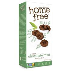 Homefree Gluten Free Chocolate Mint Mini Cookies - 5 Oz - Case Of 6