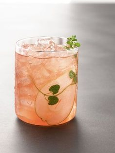 Tuscan Pear Cocktail - Pear Vodka, Limoncello, Ginger Liqueur, Blood Orange Juice, Simple Syrup.