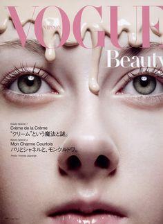 Vogue Nippon Feb 2007    Photographer : Thomas Lagrange  Model : Lera Sheremeta
