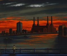 Ealing based gallery showcasing John Duffin artist prints for sale. For Arts Sake specialise in prints by John Duffin and other artists. In His Steps, Battersea Power Station, Art Deco Stil, London Art, Ways Of Seeing, Beauty Art, Print Artist, Printmaking, Landscape Paintings