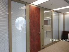 Glass System Wall 怡和大廈 (厚框雙層清玻璃屏風-內置百葉 Double Clear Glass Panel with blind) 16