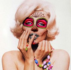 """Marilyn's Masquerade – Day of the Dead"""