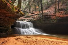 Red River Gorge is incredible.  Creation Falls.
