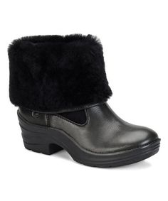 Another great find on #zulily! Black Rumer Leather Boot #zulilyfinds