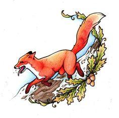 Fox Tattoo Design by MyHedHertz on deviantART