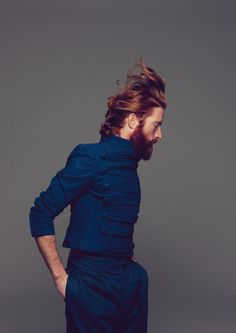 THIS GUY! This guy with the mustache and the beard and the ginger and the incredible hair!