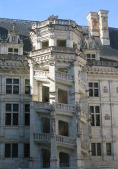 Chateau de Blois, Loire Valley, France