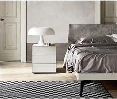 das schlichte und moderne designer bett nido von novamobili aus ... - Moderne Schlafzimmermobel