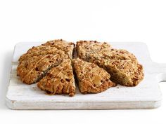 Jumbo Maple-Pecan Scone: This recipe makes one large scone, but slice it like you would a pizza and serve up to 8 people.