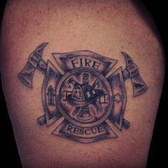 Fire Department tattoo